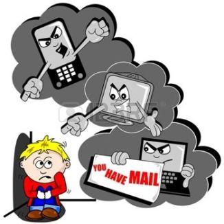 11287722-el-acoso-cibern-tico-de-dibujos-animados-con-el-tel-fono-m-vil-de-ni-o-asustado-y-pc